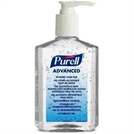 Purell GEL Hånddesinfektion Advanced med Pumpe 1x350ml Håndsprit