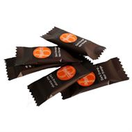 Kuvertchokolade orange 200 stk